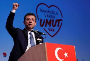 Εκλογές Κωνσταντινούπολη: Κάλεσμα στους πολίτες να αποκαταστήσουν την αδικία έκανε ο Κιλιτσντάρογλου