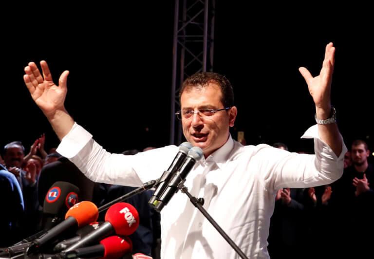 Ιμάμογλου: Κατήγγειλε τα ψέματα που οδήγησαν στην ακύρωση της εκλογής του