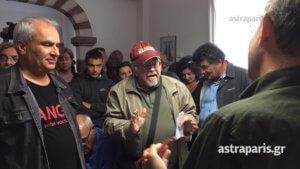 Χίος: Κατέλαβαν τα γραφεία του ΣΥΡΙΖΑ για τα τηγανέλαια της Λαγκάδας