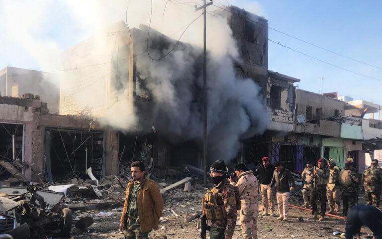 Ιράκ: 8 νεκροί από επίθεση αυτοκτονίας στην Βαγδάτη