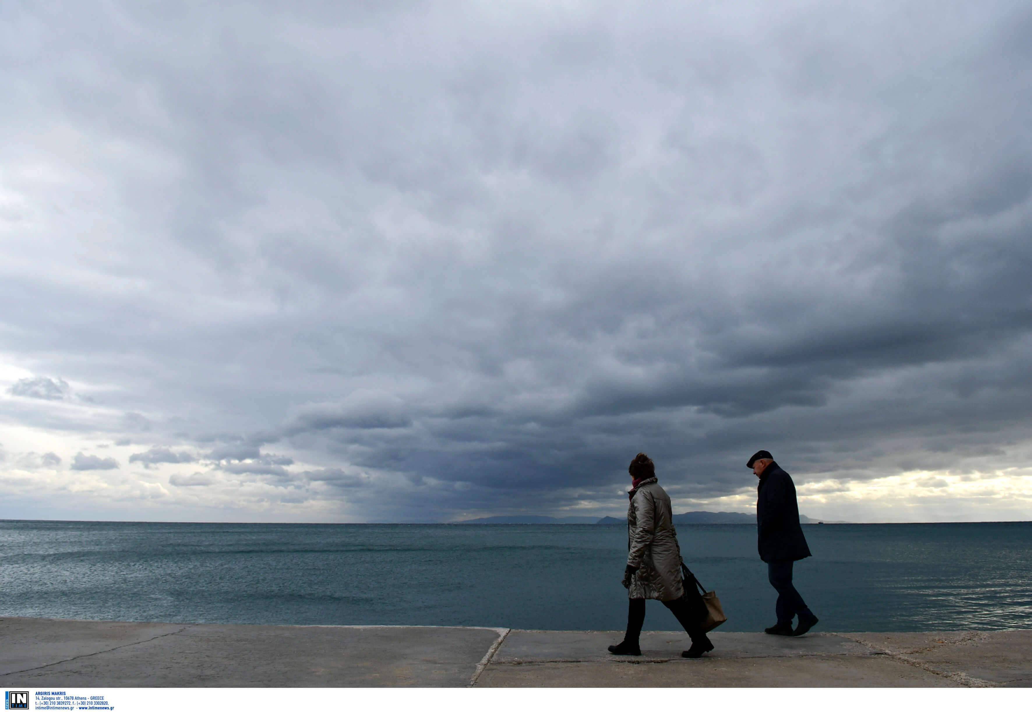 Καιρός σήμερα: Θεοφάνεια με συννεφιά και κρύο