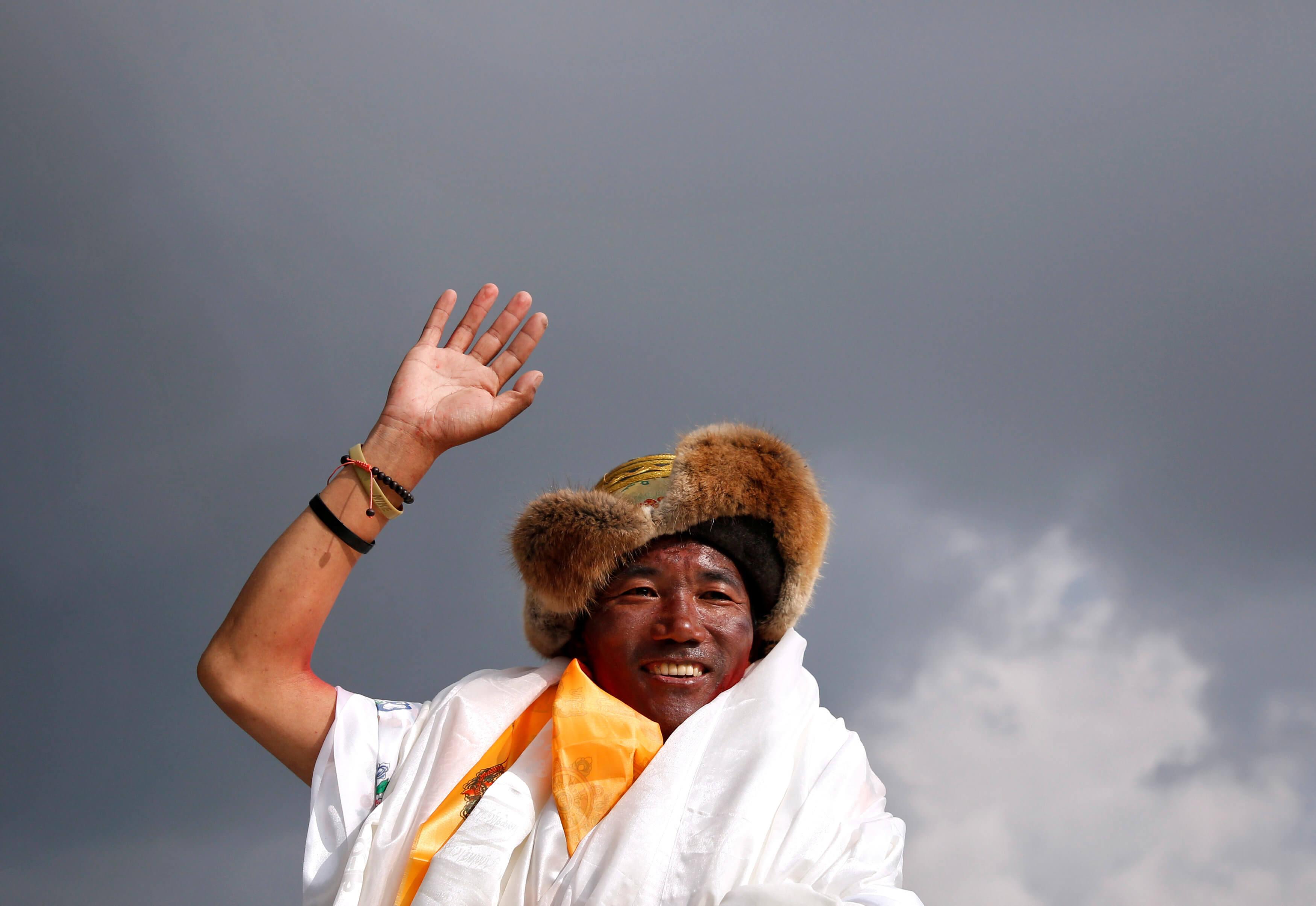 Νεπάλ: Ο Κάμι Ρίτα ανέβηκε για 24η φορά στην υψηλότερη κορυφή του κόσμου