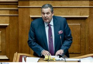 """Ευρωεκλογές 2019 – Καμμένος: Με """"Αττίλα 3"""" απειλεί στην Κύπρο ο Ερντογάν"""