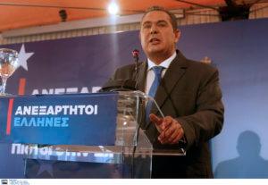 Ευρωεκλογές 2019: Εκλογές μέχρι τις 30 Ιουνίου προβλέπει ο Πάνος Καμμένος