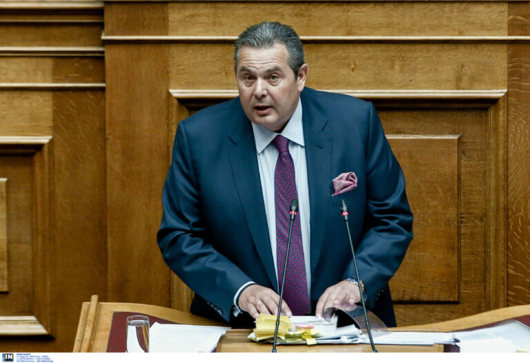 Καμμένος: Να αναβληθεί η συζήτηση στη βουλή λόγω Τουρκίας