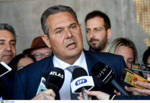 Καμμένος: Έκκληση σε Τσίπρα – Μητσοτάκη να αναβληθεί η συζήτηση στη Βουλή λόγω Τουρκίας