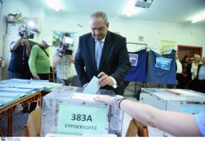 Εκλογές 2019: Στη Θεσσαλονίκη άσκησε το εκλογικό του δικαίωμα ο Κώστας Καραμανλής [video, pics]