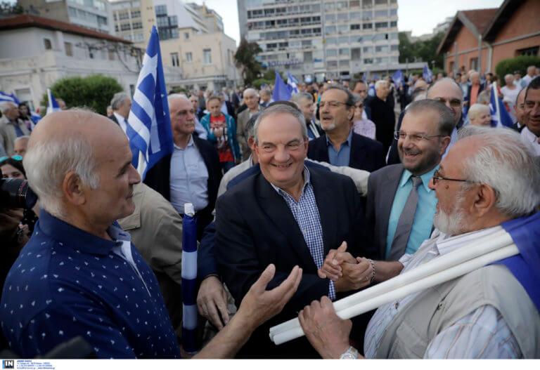 Αποθέωσαν τον Κώστα Καραμανλή στη Θεσσαλονίκη! [pics]