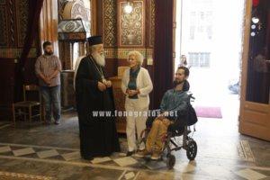 Λαμία: Η προεκλογική επίσκεψη του Στέλιου Κυμπουρόπουλου – Στο πλευρό του οι γονείς του [pics]