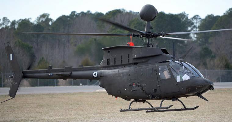 Έφτασαν στον Βόλο τα νέα «όπλα» του Στρατού Ξηράς- Αυτά είναι τα επιθετικά ελικόπτερα «Kiowa Warrior»! [pics]