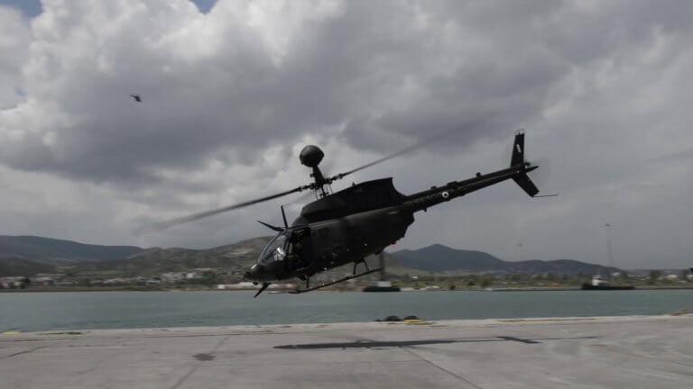 """""""Παρθενική πτήση"""" για τα νέα ελικόπτερα του Στρατού Ξηράς υπό το βλέμμα του Α/ΓΕΣ! [pics]"""