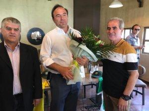 Μεσσηνία: Το «τριφύλλι» βράβευσε τον Πέτρο Κόκκαλη – Η ατάκα που προκάλεσε χαμόγελα [pics, video]