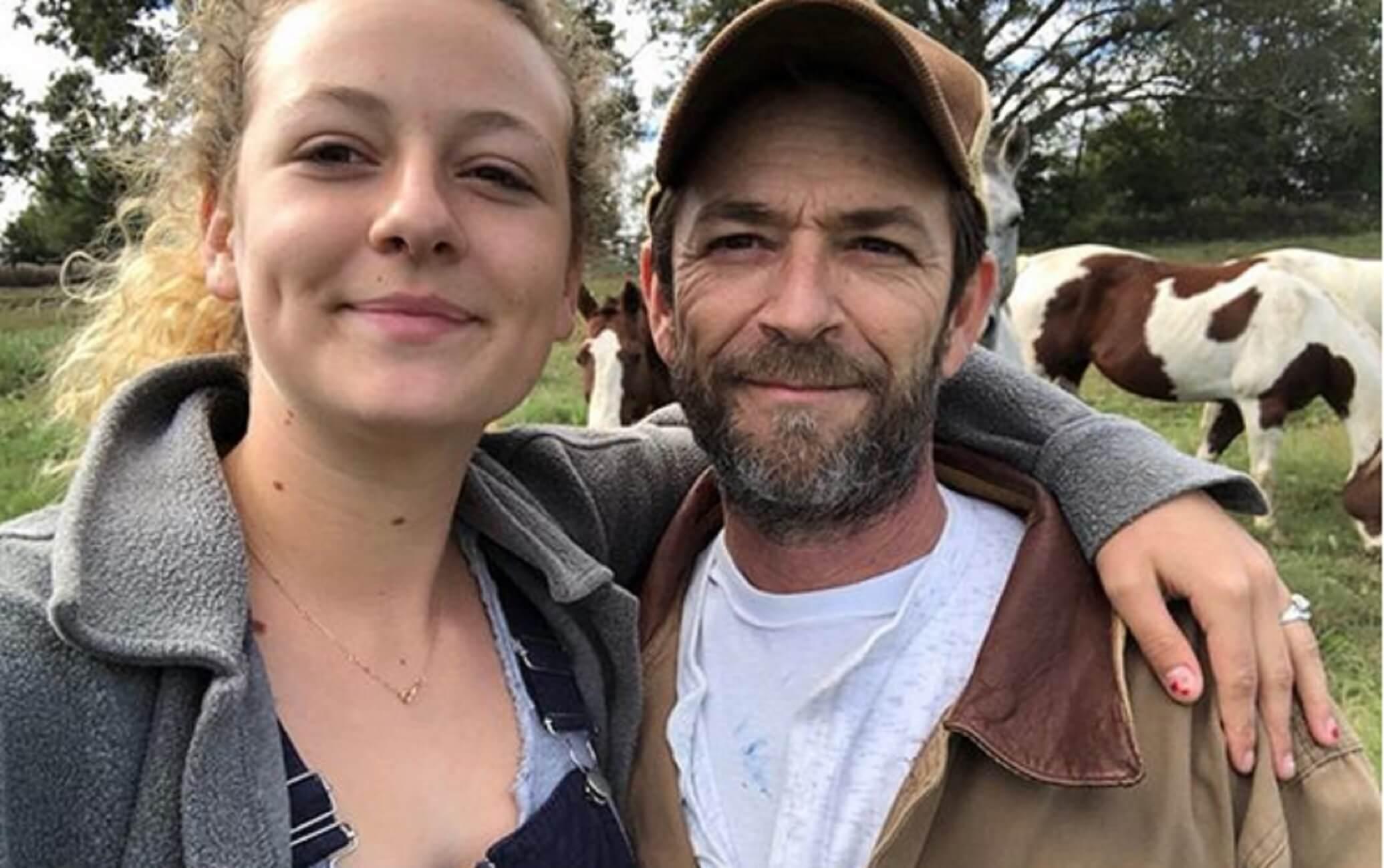 Luke Perry: Ένας διαφορετικός φόρος τιμής στον «Ντίλαν» – Η ανάρτηση της κόρης του