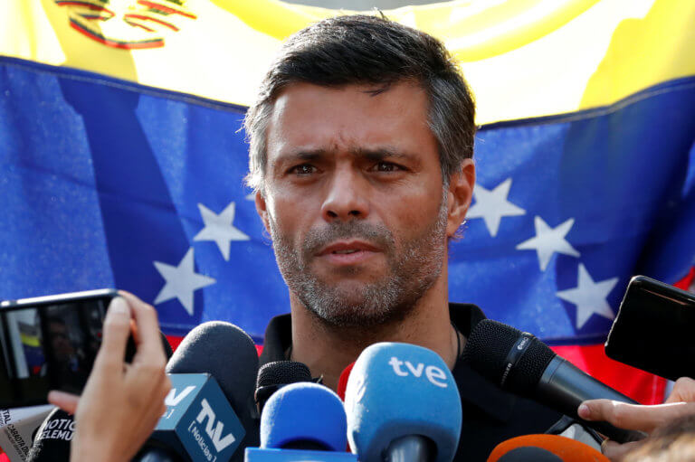 Ισπανία: Η Μαδρίτη δεν παραδίδει στις αρχές της Βενεζουέλας τον Λεοπόλδο Λόπες [pics]