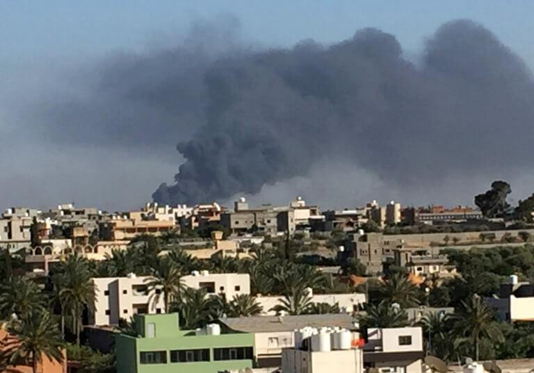 Άμεση κατάπαυση του πυρός στη Λιβύη ζήτησε η Ευρωπαϊκή Ένωση