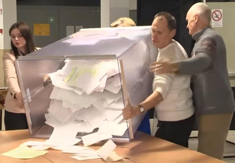Ευρωεκλογές: Μ' ένα σμπάρο 2 τρυγόνια στην Λιθουανία