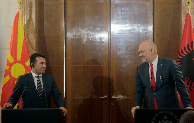 Κομισιόν: Πράσινο φως για ενταξιακές διαπραγματεύσεις Αλβανίας και Βόρειας Μακεδονίας