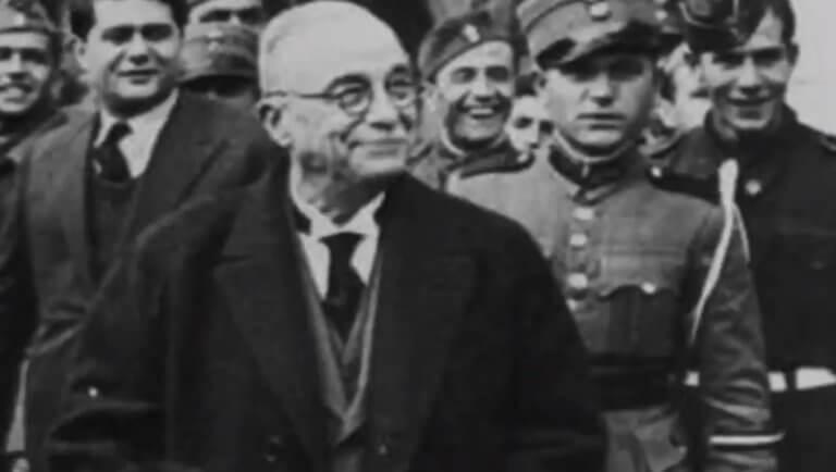 Γκάφα ολκής! Ο Ιωάννης Μεταξάς στο πρώτο προεκλογικό σποτ του ΣΥΡΙΖΑ! video