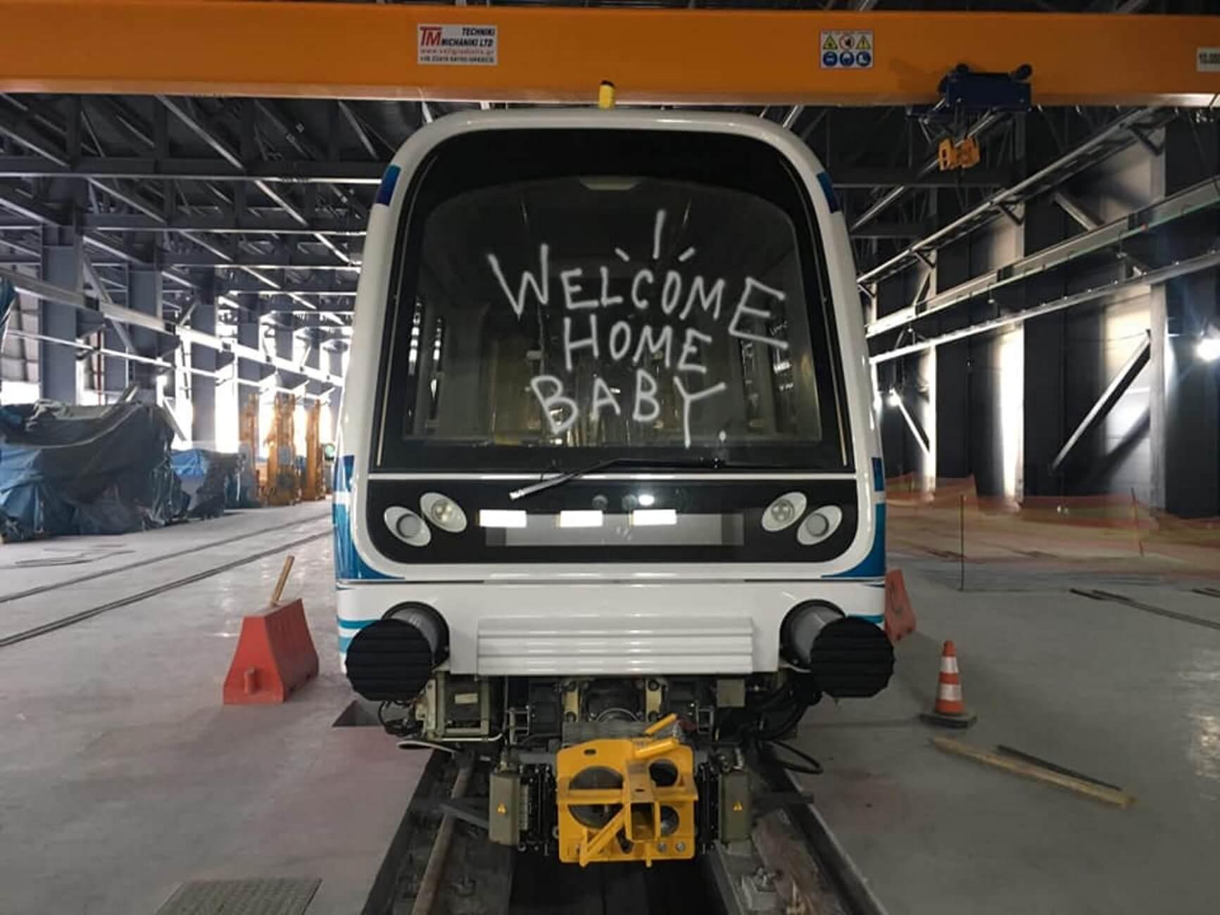 Θεσσαλονίκη: Αγνώριστα τα ολοκαίνουργια βαγόνια του μετρό – Τους έπιασαν στον ύπνο [pics]