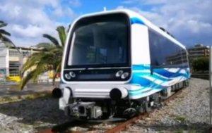 Θεσσαλονίκη: Αυτός είναι ο πρώτος συρμός του μετρό που έρχεται από την Ιταλία – Περιλαμβάνει 4 βαγόνια [pics]