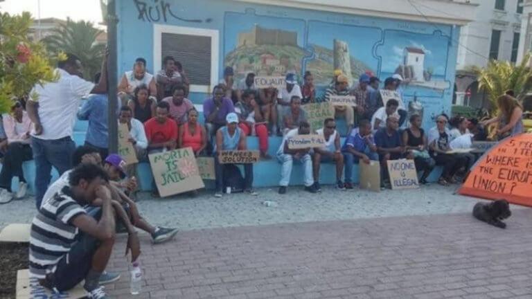 Μυτιλήνη: Αθώοι οι 108 πρόσφυγες για την κατάληψη κτιρίου