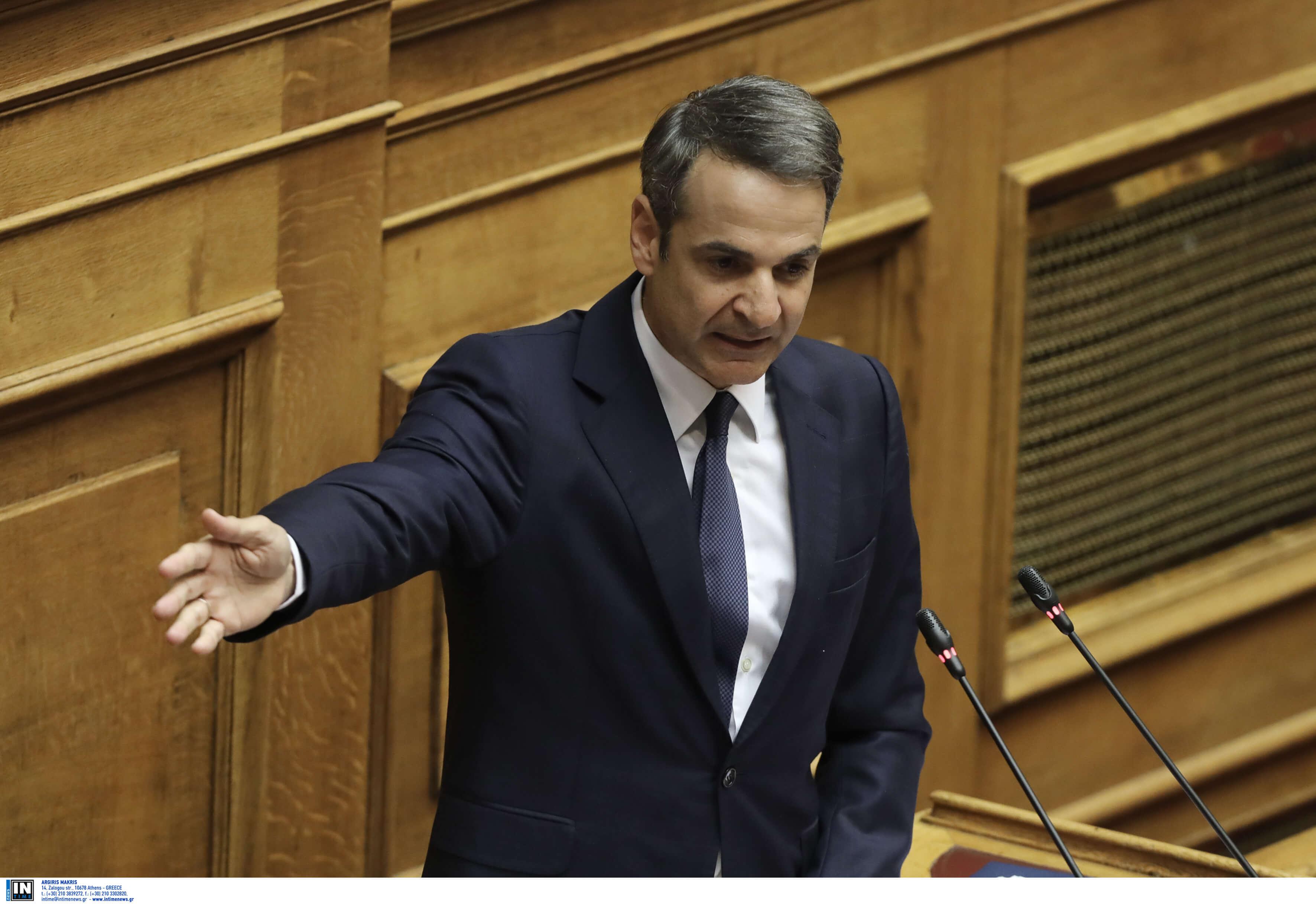"""Μητσοτάκης: Ο """"σκαφάτος"""" Τσίπρας, ο """"Πολακισμός"""" και η απάντηση στην πρόταση για debate"""