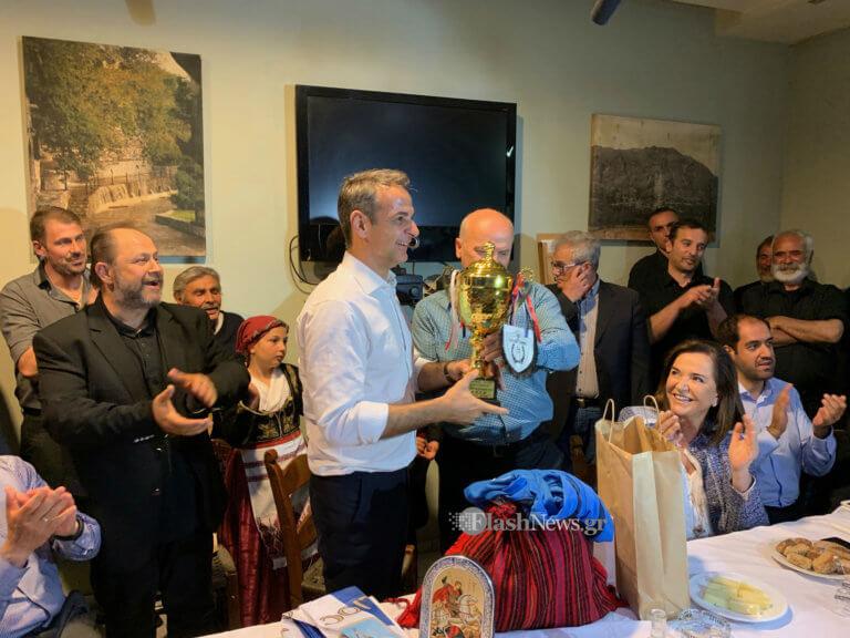 Ευρωεκλογές 2019 – Μητσοτάκης απ' την Κρήτη: «Πρέπει η ΝΔ να βγει ισχυρή από την κάλπη»!