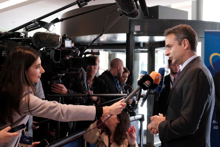 Μητσοτάκης από ΕΛΚ: Αποδείξαμε ότι μπορούμε να κερδίσουμε τις δυνάμεις του λαϊκισμού
