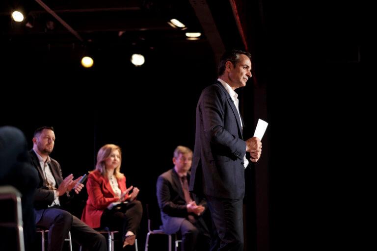 Ευρωεκλογές 2019 – Κυριάκος Μητσοτάκης: Η ομιλία του στο δημοτικό θέατρο Καλλιθέας