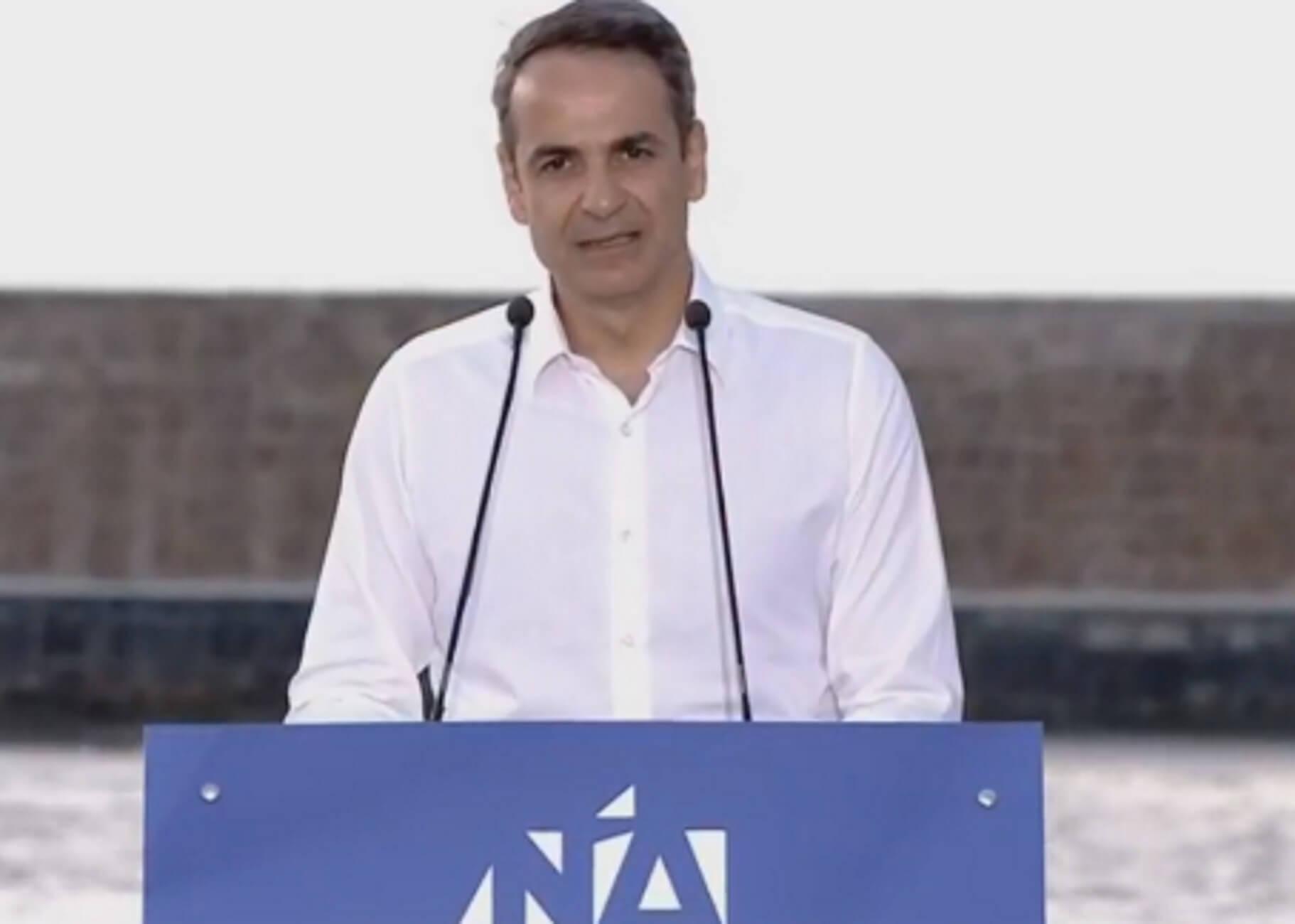 Ευρωεκλογές 2019: Η ομιλία Μητσοτάκη στα Χανιά – video