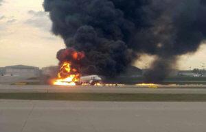 Μόσχα: Video σοκ! Η στιγμή της αεροπορικής τραγωδίας με τους 41 νεκρούς