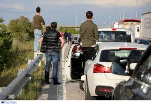 Θεσσαλονίκη: Καραμπόλα 6 αυτοκινήτων κοντά σε διόδια – Κυκλοφοριακό χάος στο ρεύμα προς Αθήνα!