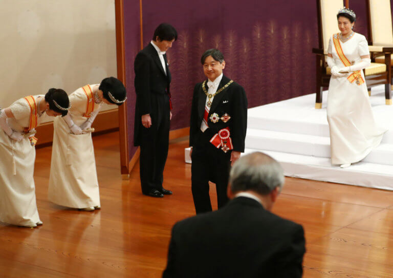 Ιαπωνία: Ανέλαβε επίσημα ο νέος αυτοκράτορας Ναρουχίτο [pics]