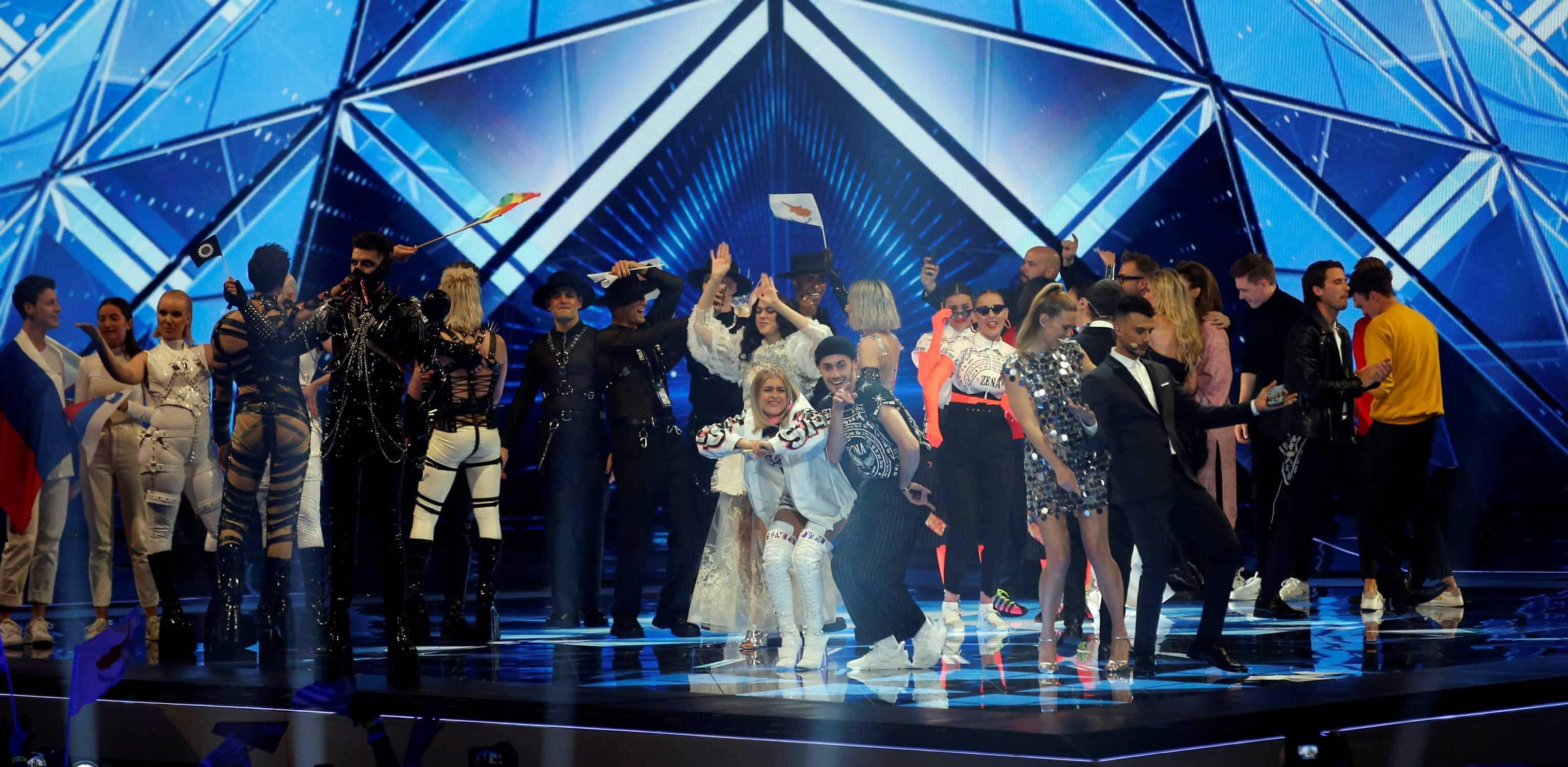 Κατερίνα Ντούσκα και Τάμτα στον τελικό της Eurovision - Πανηγυρίζουν Ελλάδα και Κύπρος!