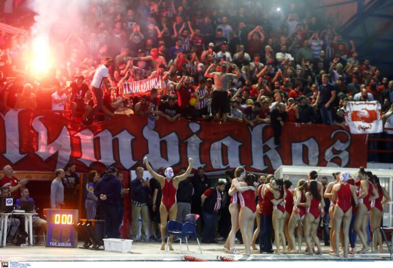 Ολυμπιακός: Υβριστικά συνθήματα για Καμμένο και Τσίπρα!