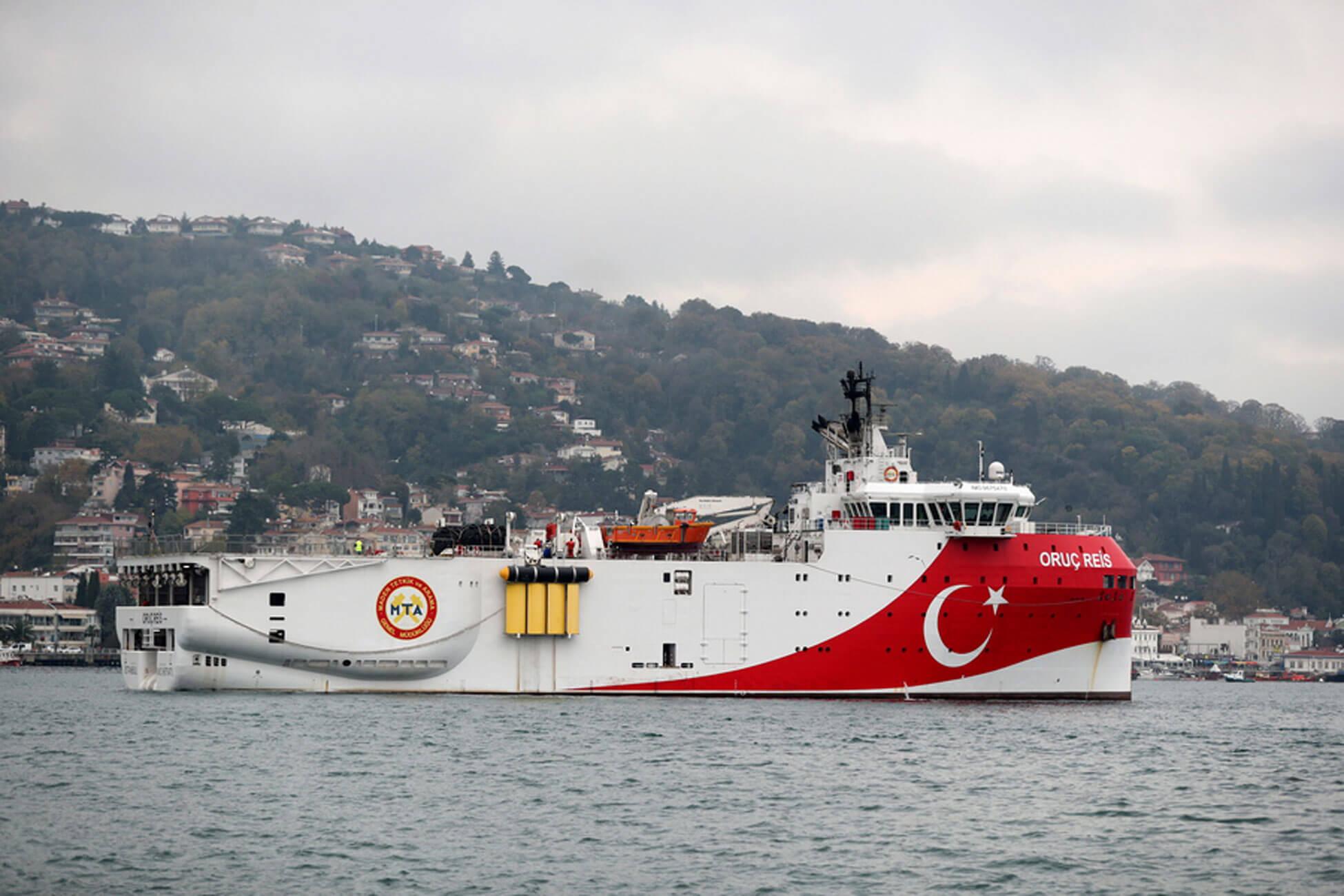 Σε επιφυλακή για το Τουρκικό ερευνητικό πλοίο Oruc Reis! Πλέει ανάμεσα σε Κρήτη και Κύπρο!