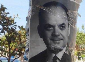 Με αφίσες του Παπαδόπουλου γέμισε η Μεσσηνία! [pics]
