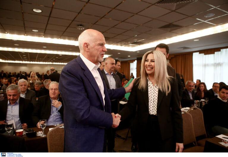 Ευρωεκλογές 2019 – Γεννηματά σε Παπανδρέου: Γιώργο, πάμε μαζί!