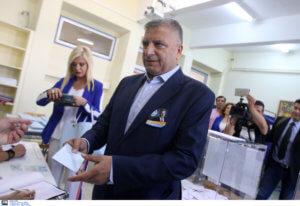 Εκλογές 2019: Ψήφισε στο Μαρούσι ο Γιώργος Πατούλης – video