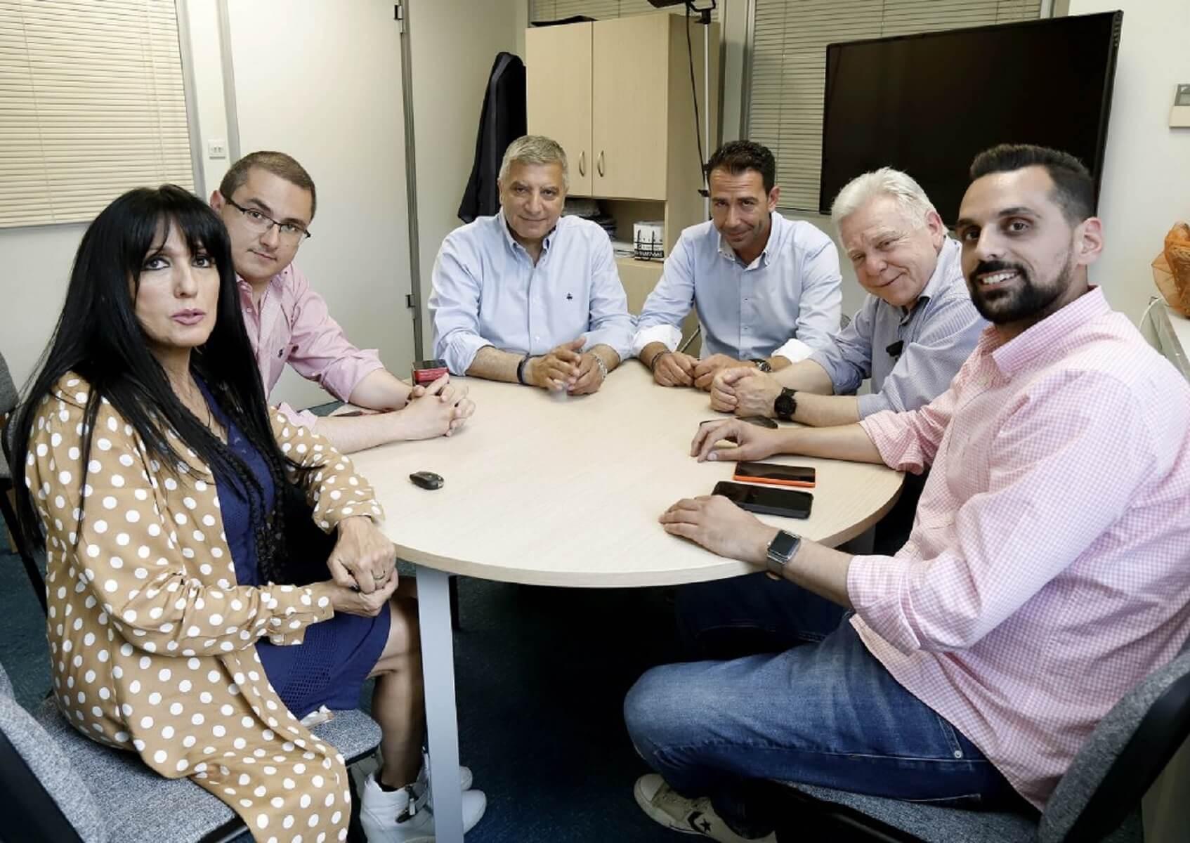 Συνάντηση Πατούλη με περιφερειακούς συμβούλους του Σγουρού