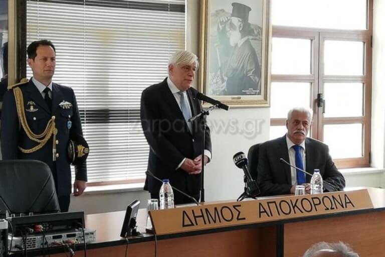 Παυλόπουλος: «Δε θα ανεχθούμε αυθαιρεσίες από την Τουρκία»