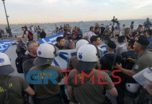 «Φλέγεται» η Θεσσαλονίκη πριν την ομιλία Τσίπρα! Νέες προσαγωγές