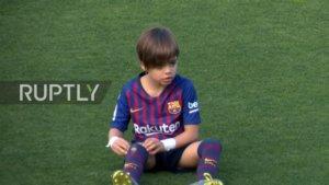 «Μπαλαδόρος» ο 6χρονος γιος του Πικέ και της Σακίρα – video