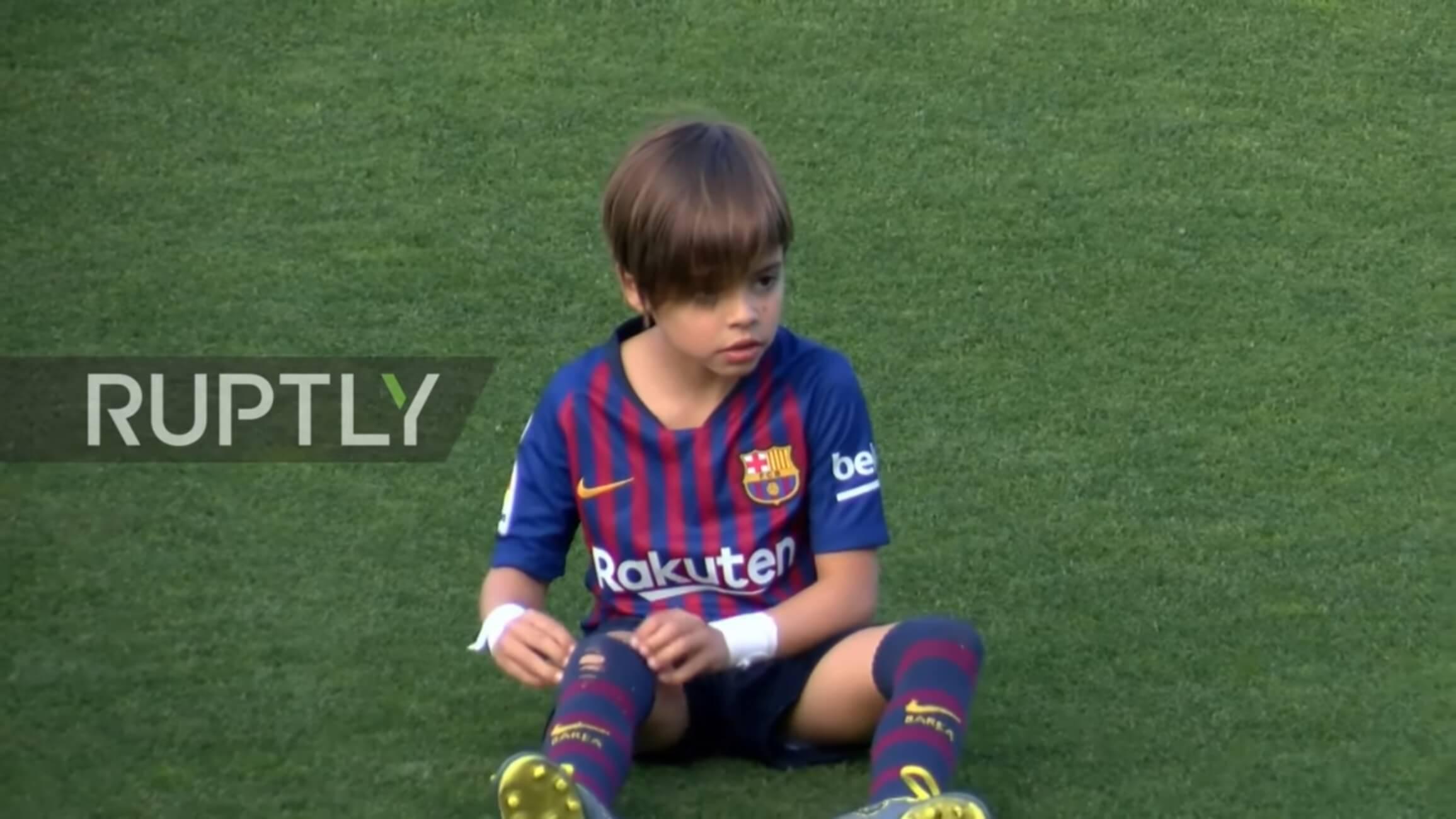 """""""Μπαλαδόρος"""" ο 6χρονος γιος του Πικέ και της Σακίρα – video"""