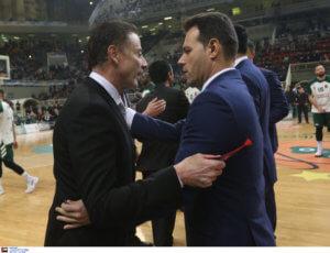 Euroleague: Αποθέωσε τον Ιτούδη ο Πιτίνο! «Εξαιρετικό coaching από τον Έλληνα» [pics]