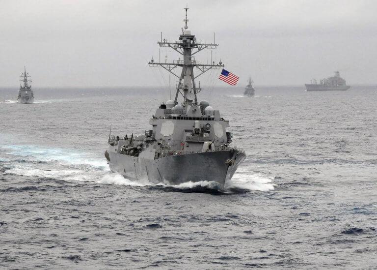 ΗΠΑ σε Τουρκία για την Κυπριακή ΑΟΖ: Έχουμε 10 πλοία και 130 αεροπλάνα στην περιοχή