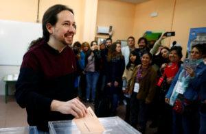 Ευρωεκλογές 2019 – Ισπανία: Σιωπή από τον Ιγκλέσιας για την κατάρρευση των Podemos