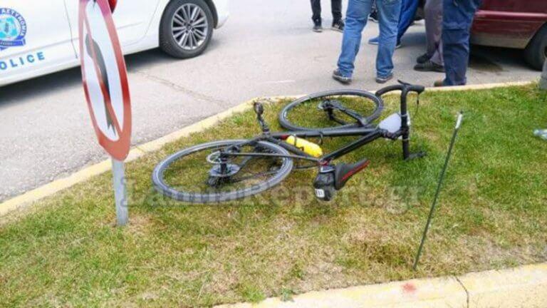 Λαμία: Τροχαίο με ποδηλάτη που κάνει τη διαδρομή Αθήνα – Αμστερνταμ!