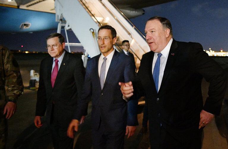 Ιράκ: Ο Μάικ Πομπέο επισκέφθηκε τη Βαγδάτη