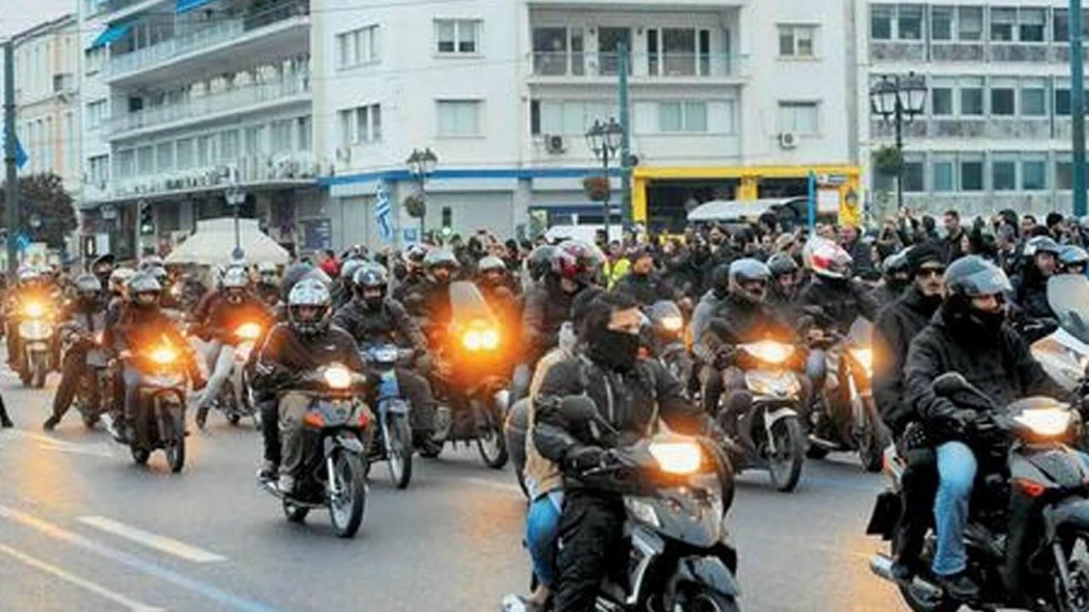 Πάτρα: Μηχανοκίνητη πορεία για τον Δημήτρη Κουφοντίνα